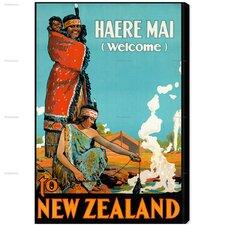 New Zealand Vintage Advertisment on Canvas