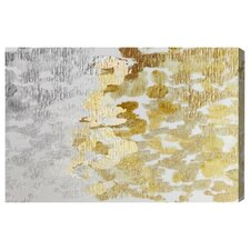 Oliver Gal 'Gold vs Platinum' Painting Print on Canvas