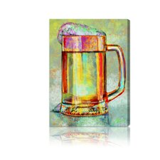 ''Beer Mug'' Canvas Art Print