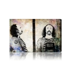 ''David Crosby Mugshot'' Canvas Art Print