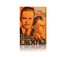 ''Dillinger Public Enemy'' Canvas Art Print