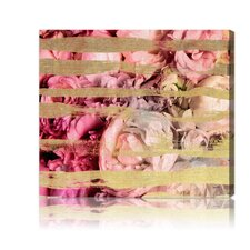 """Fields Of Rose"" Canvas Wall Art"