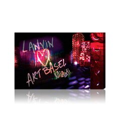 """Lanvin Art Basel"" Textual on Canvas"