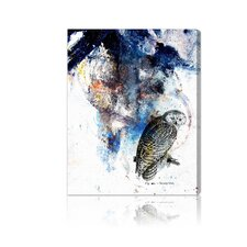 """Snowy Owl"" Canvas Wall Art"