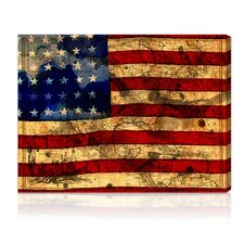 """The Flag"" Graphic Art on Canvas"