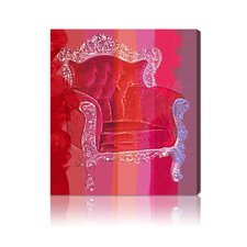 "<strong>Oliver Gal</strong> ""Throne Love Affair"" Canvas Wall Art"
