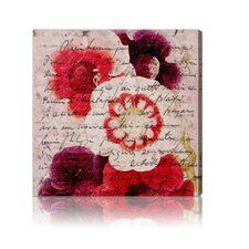 <strong>Oliver Gal</strong> ''Victor Hugo Love Declaration'' Canvas Wall Art