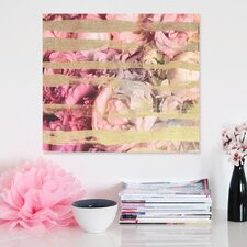"<strong>Oliver Gal</strong> ""Fields Of Rose"" Canvas Wall Art"