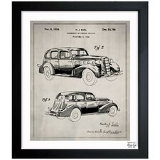 Automobile I 1934 Framed Graphic Art