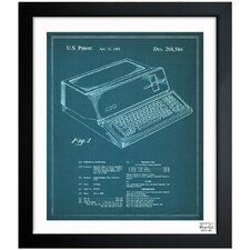 <strong>Oliver Gal</strong> First Apple Personal Computer 1983 Framed Graphic Art