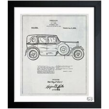 Harley Automobile Body 1921 Framed Art