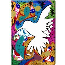 <strong>Oliver Gal</strong> Hummingbird of Peace Canvas Art