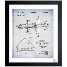Space Shuttle Vehicle and System 1967 Framed Art