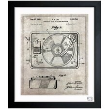Combination Sound and Picture 1950 Framed Art