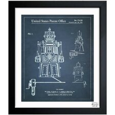 Toy Robot Ideal Robert 1955 Framed Graphic Art