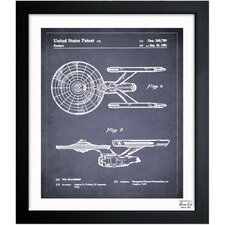 Enterprise 1981 Framed Graphic Art