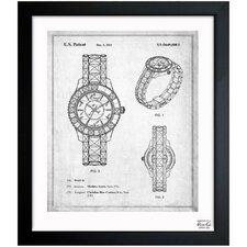 Dior Watch 2011 Framed Graphic Art