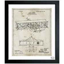 <strong>Oliver Gal</strong> Wright Flying-Machine 1906 Framed Art