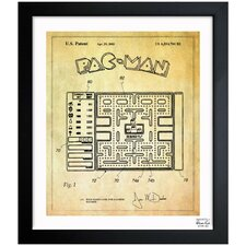 Maze Based Game Screen 2003 Framed Graphic Art