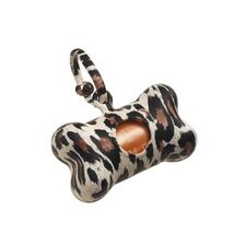 Bon Ton Leopard Dog Waste Bag Dispenser