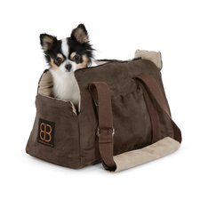 <strong>PetEgo</strong> Velvet Bitty Bag Pet Carrier