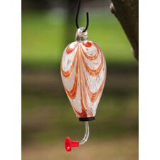 Tear Drop Decorative Hummingbird Feeder (Set of 4)