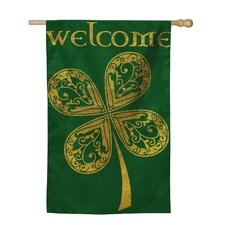 Welcome Celtic Vertical Flag