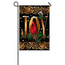 Holiday Joy Garden Flag