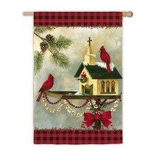 Christmas in The Garden 2-Sided Garden Flag