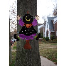 Witch Splat Tree Wrap Halloween Decoration