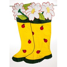 Boots 2-Sided Garden Flag