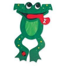 Bedazzled Frog Garden Flag