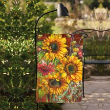 Solar Spotlight Garden Flagpole