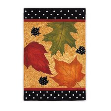 Falling Leaves Garden Flag