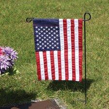 Cemetery Garden Flagpole