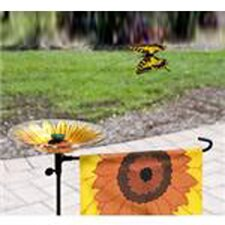 Lady Bug Solar Flagpole Light