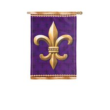 <strong>Evergreen Flag & Garden</strong> Fleur De Lis 2-Sided Vertical Flag