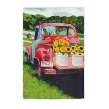 <strong>Evergreen Flag & Garden</strong> Sunflowers on Truck Garden Flag