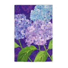 Purple Passion Hydrangeas Garden Flag