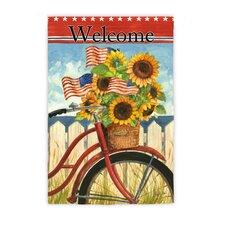 Summer Ride Garden Flag