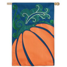 Fall Pumpkin Garden Flag