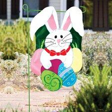 Bunny Garden Flag