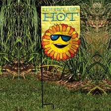 It's Hot Hot Hot 2-Sided Garden Flag