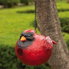 Cardinal Hanging Birdhouse