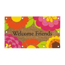 Welcome Friends LED Mat