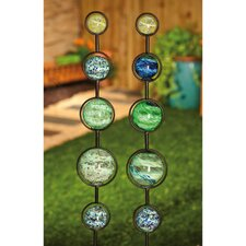 <strong>Evergreen Flag & Garden</strong> Globes Garden Stake (Set of 2)