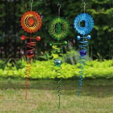 <strong>Evergreen Flag & Garden</strong> Spiral Geo Spinner (Set of 3)
