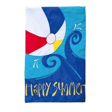 Summer Splash Garden Flag