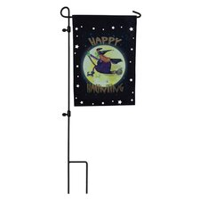 Witch Ride Garden Flag