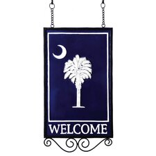 South Carolina Welcome Garden Flag